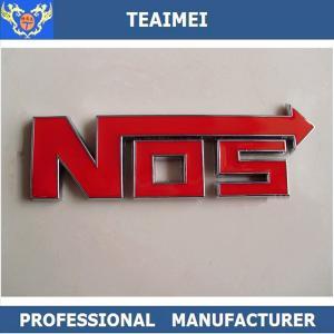 China NOS Customize Automobile Badges Emblems Letters Personalized Car Emblem wholesale
