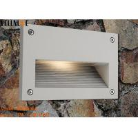 China Recessed Outdoor LED Step Lights , Rectangle Wall Lamp 3W 110 - 240V 50HZ wholesale