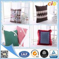 China Custom Printing Polyester  Home Decorative Car / Sofa Decorative Cushion Covers With Filling wholesale