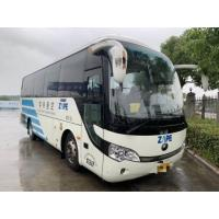 China White 19 Seats 2013 Used City Bus Diesel Left Hand Steering 3340mm Height wholesale