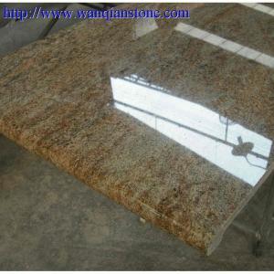 China Kashmire gold Granite countertop wholesale