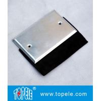 China Flat One - gang Aluminum Stamped Cover , Weatherproof Electrical Outlet Boxes wholesale
