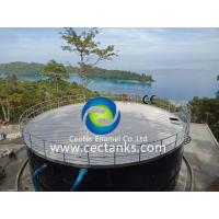 China Economical Enamel Tank For Industrial Water Storage / Glass Coated Steel Tanks on sale