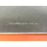 China Rough surface textured rubber flooring sheet roll multi - layer nylon reinforcement wholesale