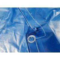 China Tear Resistant Waterproof Tarpaulin Covers , PVC Top Open Container Cover wholesale
