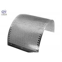China Stainless Steel Round Hole Sieves Perforated Metal Sheet Wire Mesh Punching Plate wholesale