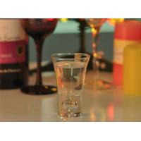 China 52ml Mini Glass Cup Sprite Tall Shot Glass Wedding Favors For Liquor on sale