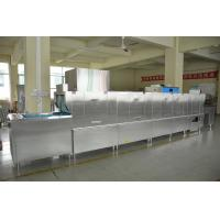 China Hotel Flight Type Dishwasher 36KW / 72KW Dispenser inside ECO-L800CP3H wholesale