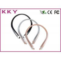 China Bluetooth 4.0 Headset CVC Noise Reduction Sports Earphone with Vibratory Function wholesale