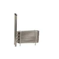 China Industrial Shell 220V Combined Titanium Coaxial Coil Heat Exchanger wholesale
