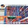 China A pálete Q235 de aço submete o controle de aperfeiçoamento dos trabalhos em rede do espaço do racking de rádio da canela wholesale