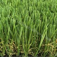 China Silky Soft Monofilament PE + Curly PP Outdoor Artificial Turf / Artificial Grass Carpet Rug wholesale