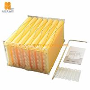 China Honey flow factory directly supplies 7 pcs plastic beehive auto flow hive frames wholesale