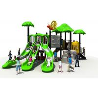 China Green Children Outdoor Playground Equipment ,KAI QI Kids Playground Slide wholesale