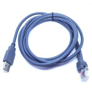 China CABLE del escáner USB de Bacode del símbolo de los 6ft para LS2208 LS4208 LS4278 LS9208 LS7708 LS3578 wholesale