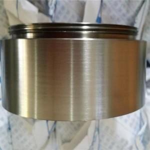 China 99.9%r titanium target,ti-al alloy target for Vacuum PVD Electroplating Field Titanium Target baoji price wholesale