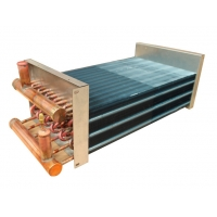 China 1/5HP Galvanized Plate Aluminum Fin Type Heat Exchanger for Drying Equipments wholesale
