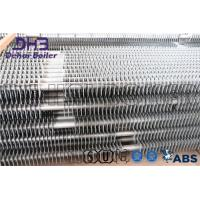 China SS400 Boiler Fin Tube , Cooling Fins For Pipe Pressurized Convert Water Steam on sale