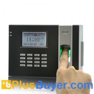 China Fingerprint Time Attendance Device + Door Lock (Black) wholesale