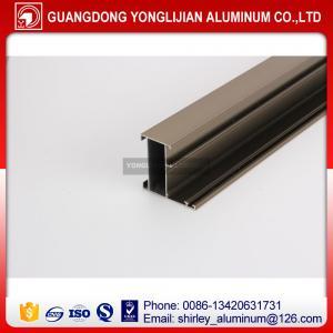 Factory manufacturer Ghana anodized bronze window door aluminium profile, aluminum profile supplier