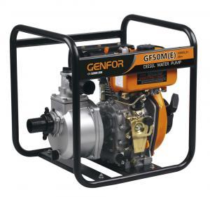 China 100mm Electric Start Diesel Engine Water Pump , Diesel Motor Pump GF186FAE Engine wholesale