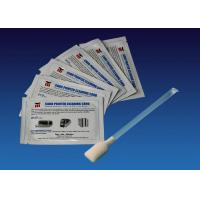China 105909 169 Zebra Cleaning Kit , Zebra Cleaning Swabs / Wipes Plastic Material OEM wholesale