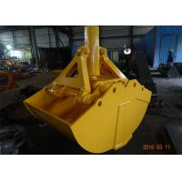 China One Cylinder Clamshell Bucket , Komatsu PC360 Telescopic Boom Grapple Bucket wholesale