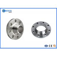 China Connection Weld Neck Pipe Flanges , ASTM Alloy 20 Raised Face Weld Neck Flange on sale