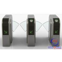 Buy cheap Half Height Prestige Security Flap Gate Bidirectional Intelligent Flap Turnstile from wholesalers