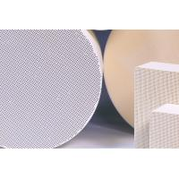 China Thin Honeycomb Ceramic Substrate , Cellular Catalyst Substrates wholesale