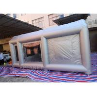 China 6m Long Car Painting Spray Paint Tent Inflatable Spray Paint Booth wholesale