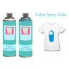 China BlackFabricSprayPaintAcrylicSprayPaint For Clothing / Shoes UV Resistant wholesale
