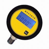 China Pressure Gauge with 0.2mA Operating Current and 4-digit LCD Display on sale