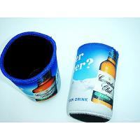 China Neoprene Coke can skin case, neoprene can cooler sleeve pouch,heat transfer colorful print wholesale