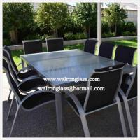 China Polished Outdoor Table Top with Toughened Glass wholesale