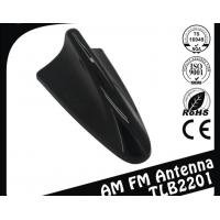 China Black Roof Mounted Shark Fin Car Gps Antenna 300mm Power Lead Length wholesale
