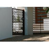 Light Weight Interior Aluminum Decorative Panels Weather Resistance No Static