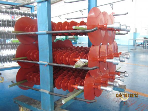 Quality 66kV Composite Polymer Insulator 120kN Extra Large Sheds For Long Creepage Distance for sale