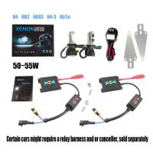 China SLIM xenon car lights for car / auto HID KIT H4 H13 9004 9007 Hi/Lo on sale