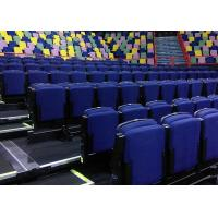 China Lecture Halls Retractable Bleacher Seating Optional Color Elegant Appearance on sale