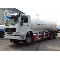 China 18CBM 336hp Vacuum Suction Sewer Cleaning Truck 6x4 Desiel Fuel Type wholesale