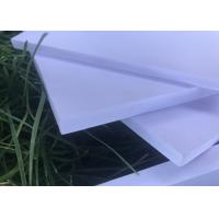 China High Strength Expanded Foam Sheet , White Kitchen Exterior Foam Board wholesale