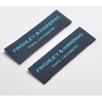 China Custom Logo Woven Neck Labels Pattern Brand Clothing Garment Tags And Labels wholesale
