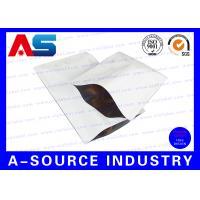 Heat Seal Custom Printed Resealable Aluminum Foil Packaging Bags SGS , ISO 9001