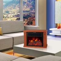 log burning flame fires stoves EF480 MINI TABLE climat chimenea Heater Slogger room desktop electric fireplace heater