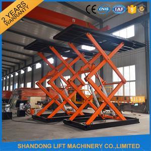 Buy cheap Ascenseur hydraulique de voiture de ciseaux pour le stationnement souterrain from wholesalers
