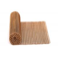 China Supply Frame Design Services For Balanced Sprial Weave Metal Curtain Drapery on sale