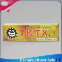 Buy cheap 10g TKTX38%  Anaesthetic Numb Pain Killer Cream Pain Relief Cream For Laser Hair Removal, Permanent Makeup from wholesalers