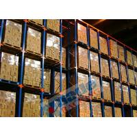 China Blue Orange Material Handling Racks Drive Through Racking For Cold Storage wholesale