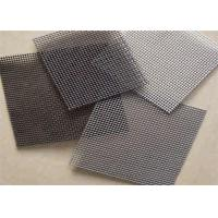 China Galvanized Security Woven Square Wire Mesh For Window And Door Insect Protection wholesale